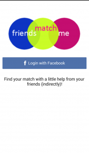 Friends Match Me app Login