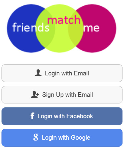Friends Match Me dating Facebook not required